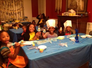 Kids Cupcake Decorating Parties